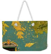 Hellenic Peninsula Greece, Albania, Bosnia And Bulgaria Weekender Tote Bag