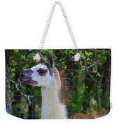 Hello Llama Weekender Tote Bag