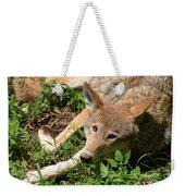 Hello Wolf Weekender Tote Bag