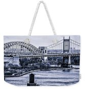 Hells Gate Bridge Triborough Bridge  Weekender Tote Bag