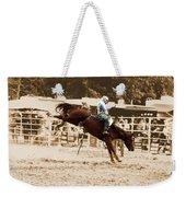 Helluva Rodeo-the Ride 4 Weekender Tote Bag
