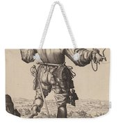 Helmeted Musketeer Weekender Tote Bag