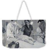Help Weekender Tote Bag by Kevin Daly