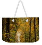 Helton Falls Through The Leaves Weekender Tote Bag
