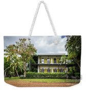 Hemingway House, Key West, Florida Weekender Tote Bag