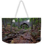 Hemlock Bridge Weekender Tote Bag