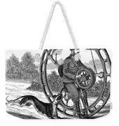 Hemmings Unicycle, 1869 Weekender Tote Bag by Granger