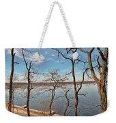 Hempstead Harbor Through The Trees Weekender Tote Bag