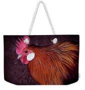 Hen Chicken, Digital Paint Weekender Tote Bag
