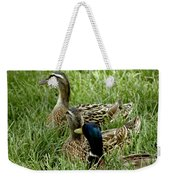 Hen Hen Drake At Frankenmuth On The Cass River Weekender Tote Bag