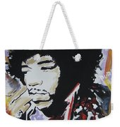 Hendrix Thoughts Weekender Tote Bag