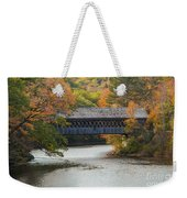 Henniker Covered Bridge Weekender Tote Bag