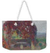 Henri Jean Guillaume Martin 1860 - 1943 The Bower Flowers Weekender Tote Bag