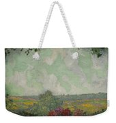 Henri Le Sidaner 1862 - 1939 View From The Terrace Weekender Tote Bag