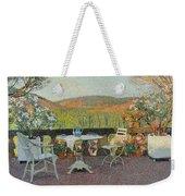 Henri Martin 1860 - 1943 Tea Time On The Terrace Marquayrol Weekender Tote Bag