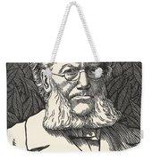 Henrik Ibsen, Norwegian Playwright Weekender Tote Bag