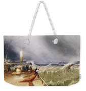 Henry Barlow Carter 1795-1867 Loss Of The Scarborough Lifeboat 24 May 1836 Weekender Tote Bag