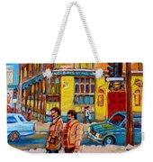 Henry Birks On St Catherine Street Weekender Tote Bag