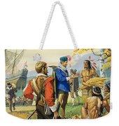 Henry Hudson Weekender Tote Bag