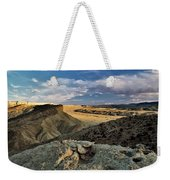 Henry Mountain Wsa Weekender Tote Bag by Leland D Howard