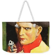 Henry Starr In A Debtor To The Law 1919 Weekender Tote Bag