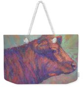 Henry's Red Angus Weekender Tote Bag