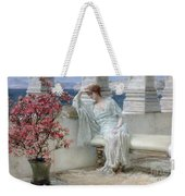 Her Eyes Are With Her Thoughts And They Are Far Away Weekender Tote Bag