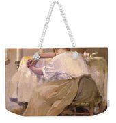 Her First Born 1888 Weekender Tote Bag