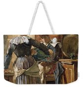 Her First Born Weekender Tote Bag by Walter Langley