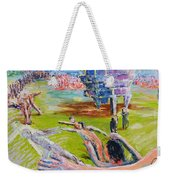 Her Recreations Weekender Tote Bag