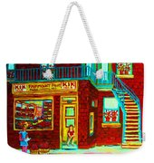 Her Shopping List Weekender Tote Bag