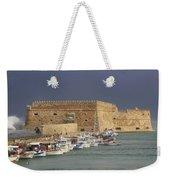 Heraklion Castle Crete Greece Weekender Tote Bag