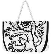 Heraldry: Lion Weekender Tote Bag