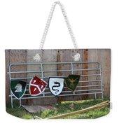 Heraldry Shields At Renfaire Weekender Tote Bag
