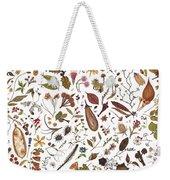 Herbarium Specimen Weekender Tote Bag
