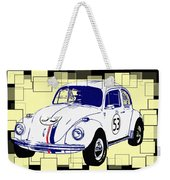 Herbie The Love Bug Weekender Tote Bag
