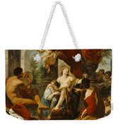 Hercules And Omphale Weekender Tote Bag