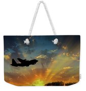 Hercules In The Morning Weekender Tote Bag