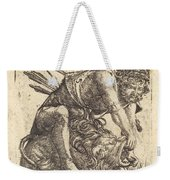 Hercules Overcoming The Nemean Lion Weekender Tote Bag