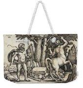 Hercules Shooting The Centaur Nessus Weekender Tote Bag