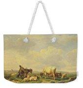 Herdsman And Herd Weekender Tote Bag