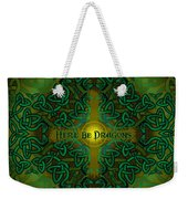 Here Be Dragons Weekender Tote Bag