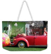 Here Comes Peter Cottontail Weekender Tote Bag