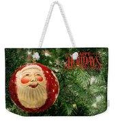 Here Comes Santa Claus Weekender Tote Bag