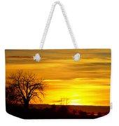 Here Comes The Sunrise Weekender Tote Bag