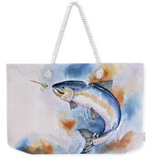 Here Fishy, Fishy Weekender Tote Bag