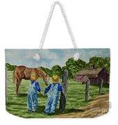 Here Horsey Horsey Weekender Tote Bag