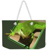 Here Looking At You Weekender Tote Bag