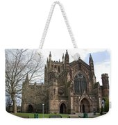 Hereford Cathedral  England Weekender Tote Bag