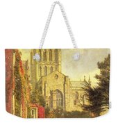 Hereford Cathedral Weekender Tote Bag by John William Buxton Knight